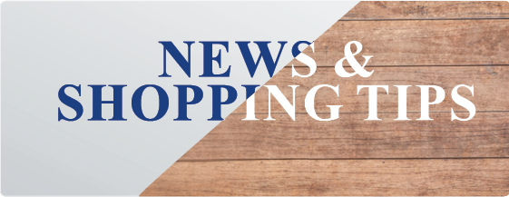 News and shopping tips