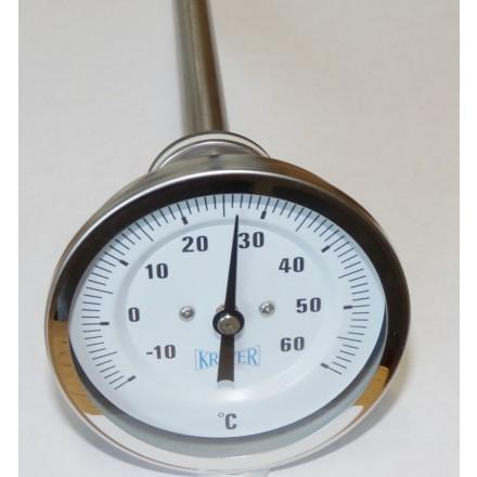 Mit dem Aussengewinde kann das Thermometer in die mitgelieferte Tauchhülse  einge 8cfe7b67b4226