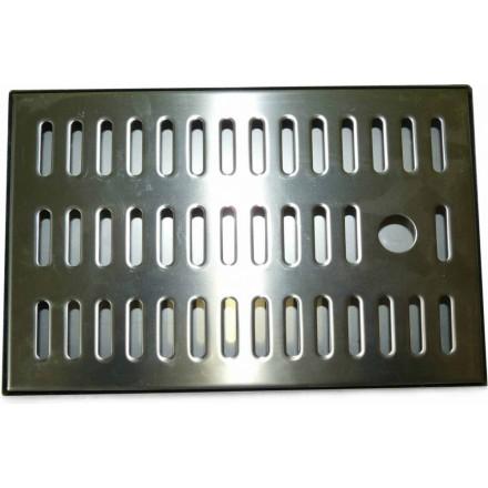 Tropfblech tropfschale edelstahl 250 x 160 x 20 mm for Mobelgriffe edelstahl 160 mm